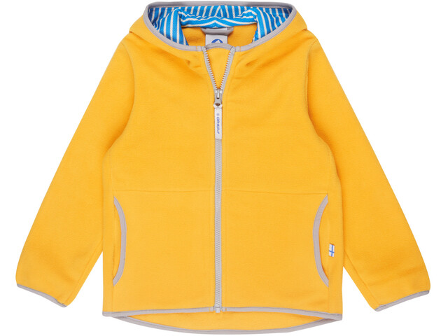 Finkid Kids Paukku Jacket yellow/storm